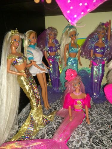 Mermaid barbies 90s sirene barbie sirenitas meerjungfrau b flickr - Barbie sirene ...