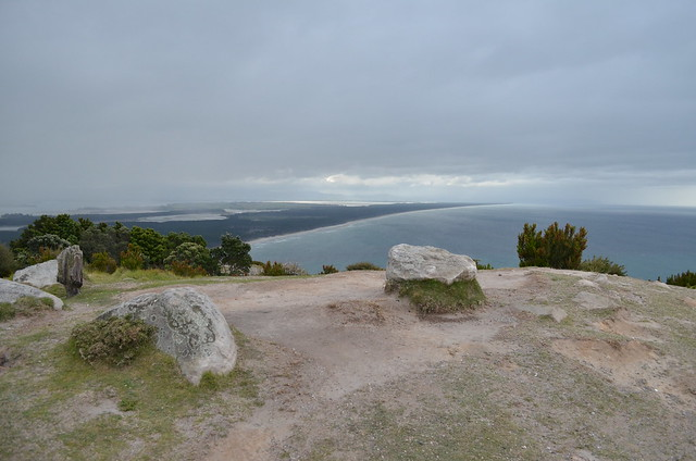 view over ocean - Mount Maunganui