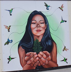 Rock Bay First Nations Mural