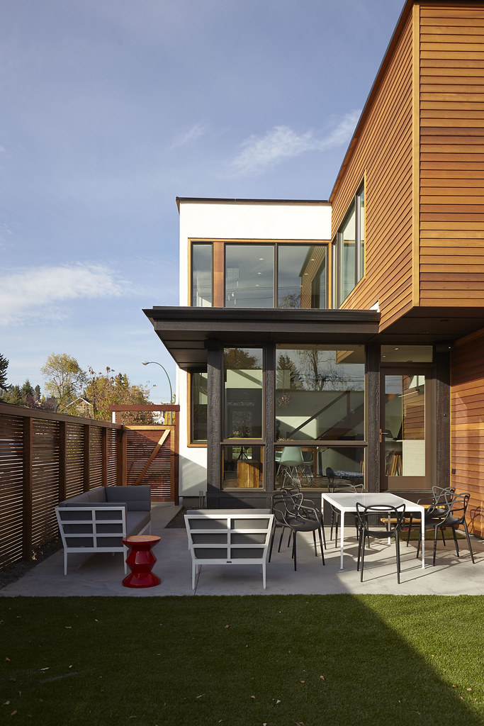 Turkel Design Lindal 70730 The Backyard Seating Area Is
