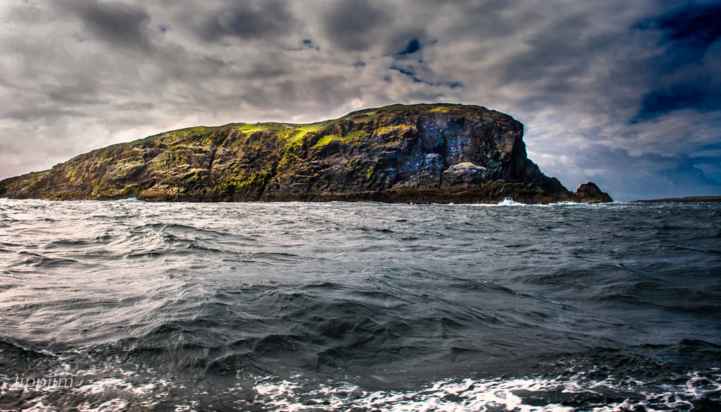 Caher Island Caher Island Off The Coast Of Mayo On The