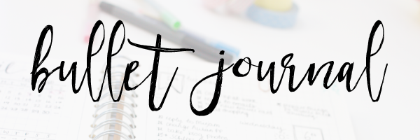 Bullet journalling blog posts
