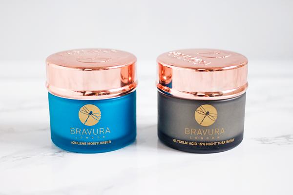 Bravura London Azulene Moisturiser Glycolic Acid Night Treatment