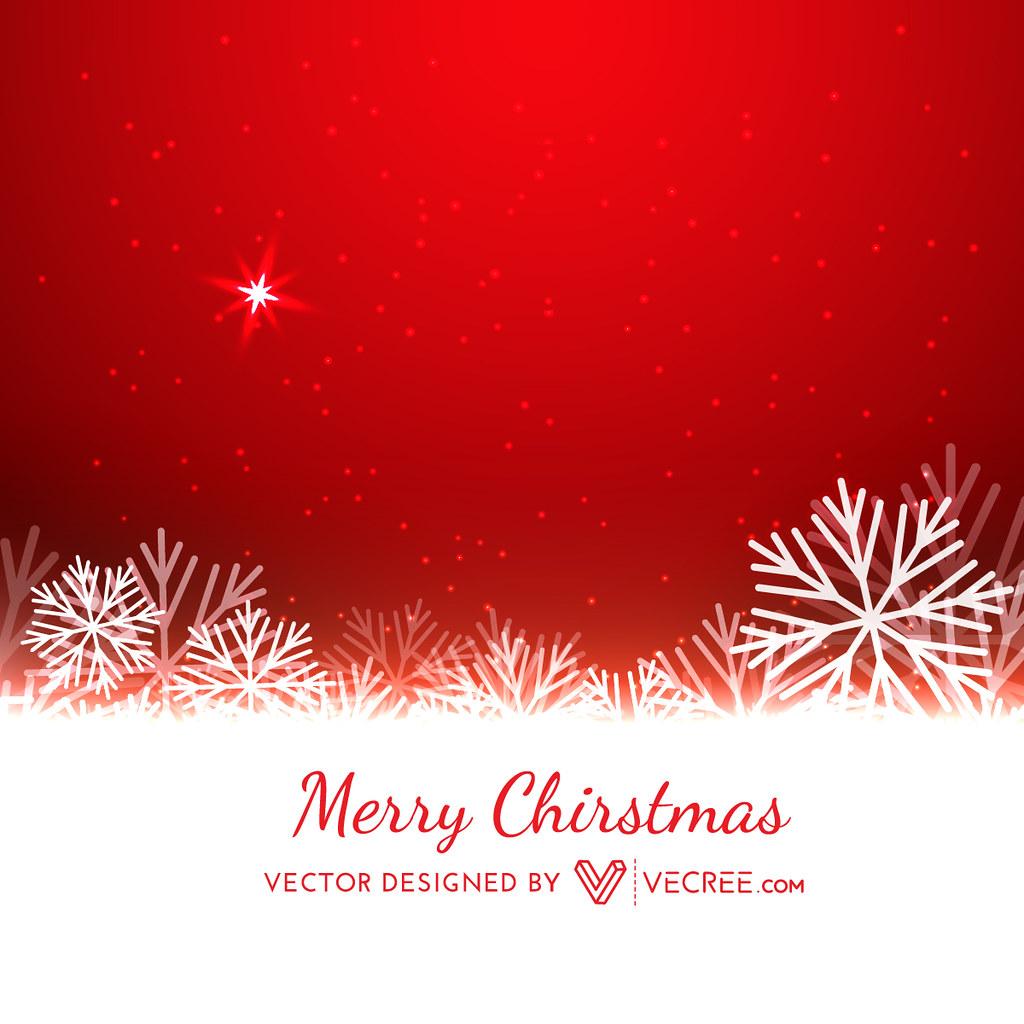 <b>Snowflake Background</b> - <b>Red</b> Stock Photos - Image: 6553683