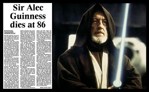 5th August 2000 - Death of Sir Alec Guinness | by Bradford Timeline