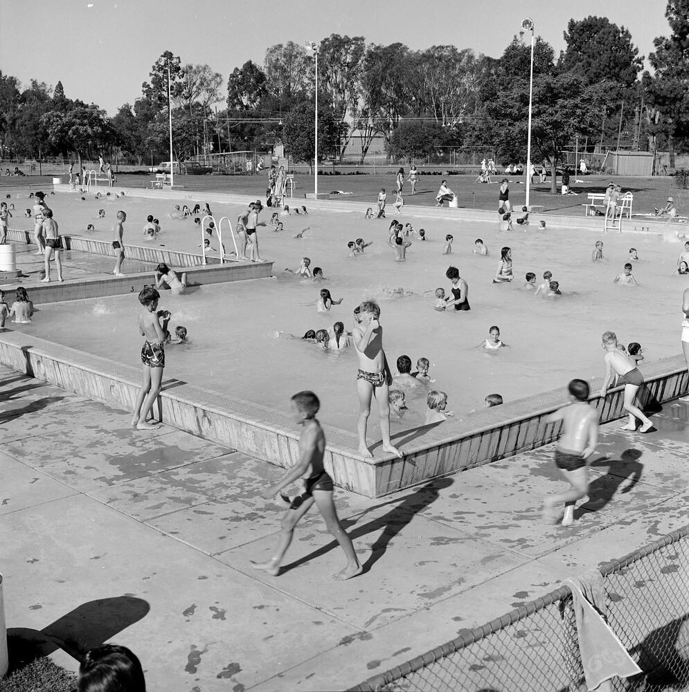 Swimming Pool Wangaratta Vic 1970 Image Flickr
