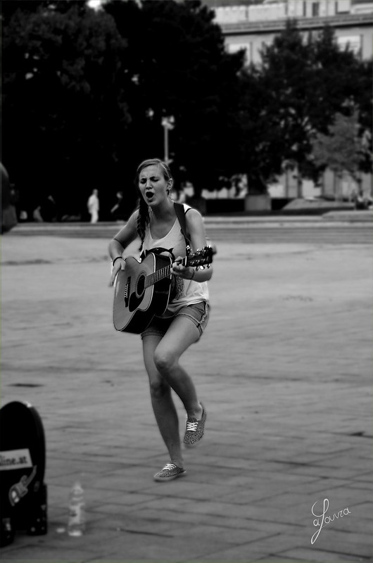 Street Singing, Vienna, Austria
