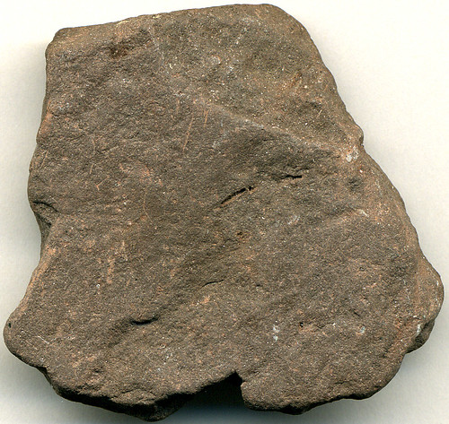 Red Shale Stone : Red shale sedimentary rocks form by the