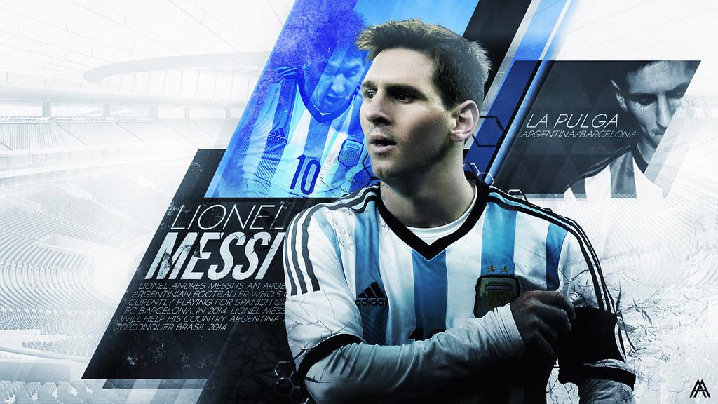 Lionel Messi Argentina 2014 2015 Wallpaper Hd Desktop Flickr