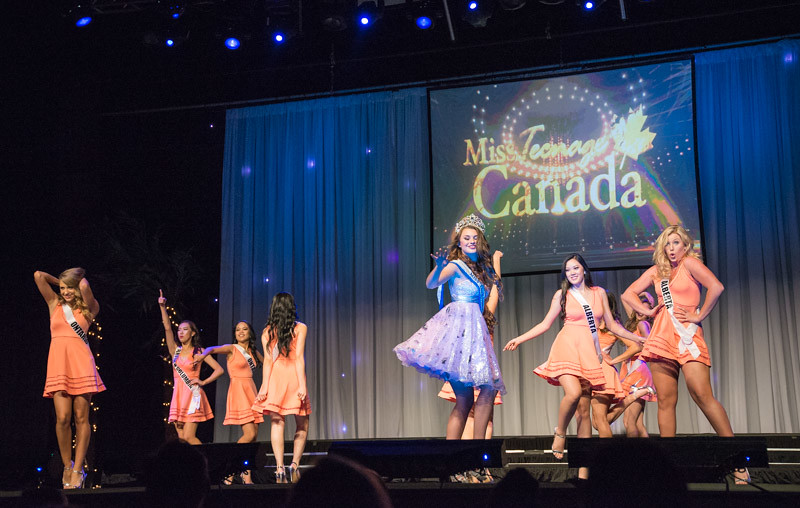 Miss Teenage Canada, live show, dance routine,