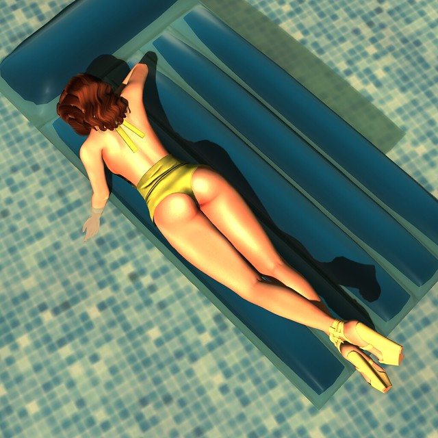 The Starlet by the Pool