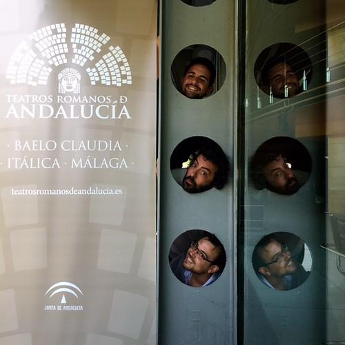 AionSur 28910886125_8544cdb418_d 'La comedia de la olla' cierra el ciclo Teatros Romanos de Andalucía en el yacimiento arqueológico de Itálica Cultura