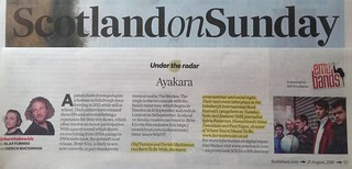 Scotland On Sunday, Ayakara