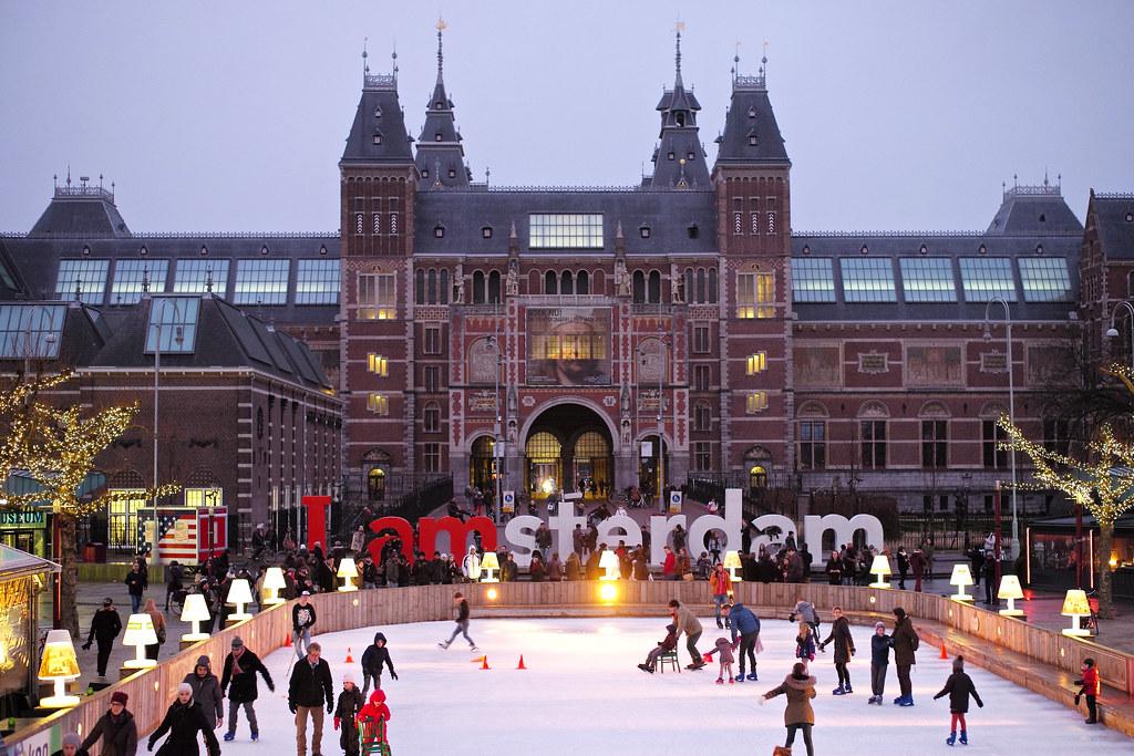 Amsterdam Hotel Train