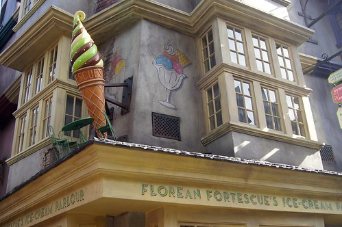 The Wizarding World of Harry Potter - Florean Fortescue's ice cream