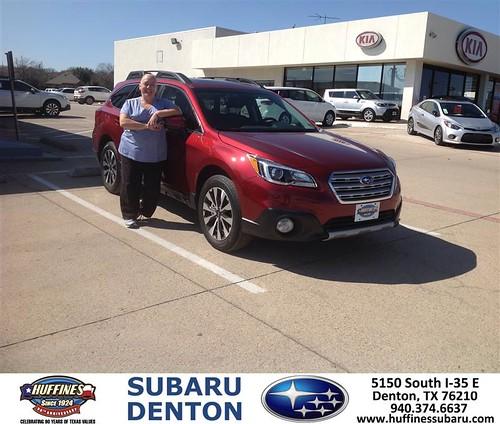Congratulations To Maria Sheppard On Your Subaru Outback