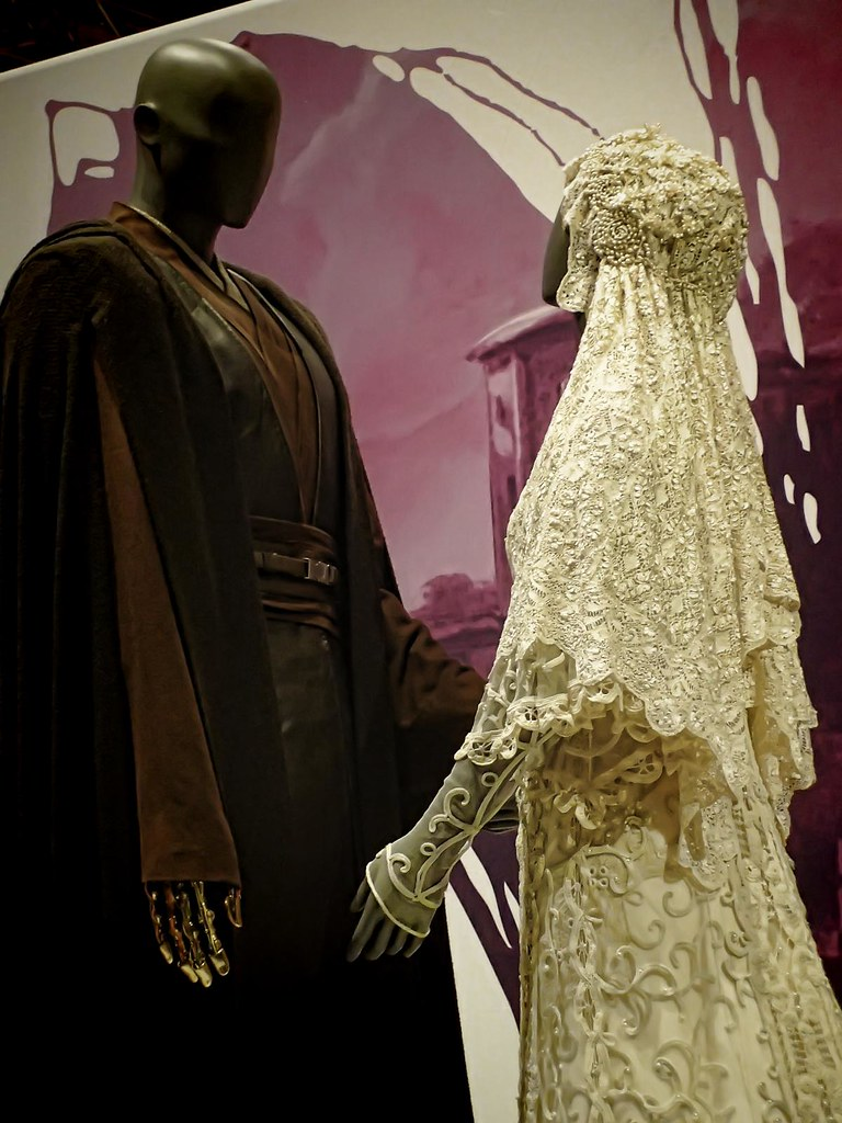 Closer view of Wedding Ensemble of Anakin Skywalker and Pa…   Flickr