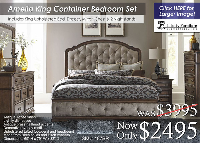 Amelia King Container Set 487BR