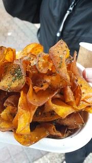 Sweet Potato Chips at Buddha's Birthday
