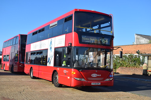 Go-Ahead Metrobus 960 on Route 64, New Addington