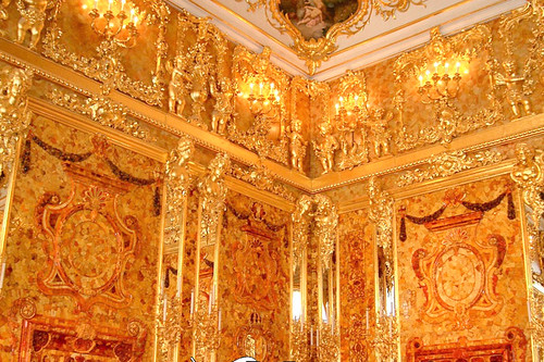 Catherine's Palace - Amber Room