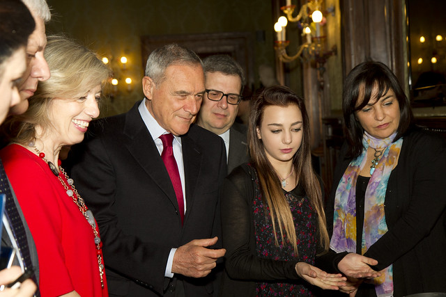 Premiazione al Senato 2015