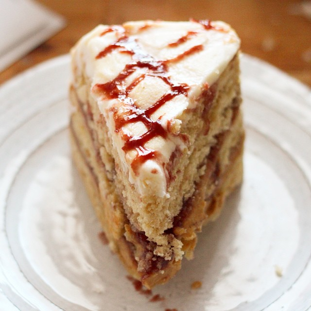 Peanut Butter And Jelly Cake Nyc