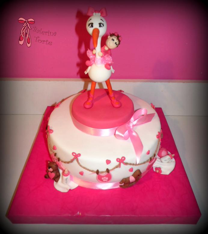 Stork Cake Pan