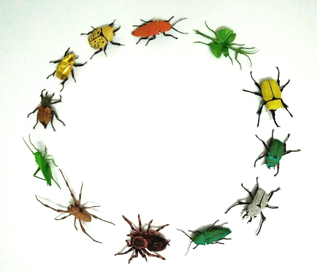Origami Insects Bil Ori Flickr