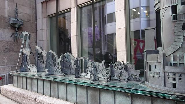 Totem Urbain / histoire en dentelle