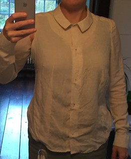 fitting marktkatoen shirt Sewing self drafted pattern