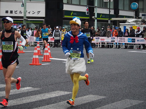 runner donald duck