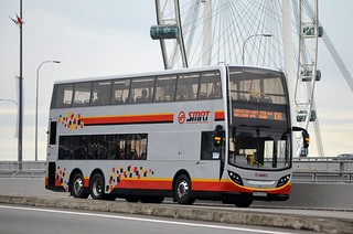 SMRT Buses Alexander Dennis Enviro500 | by nighteye