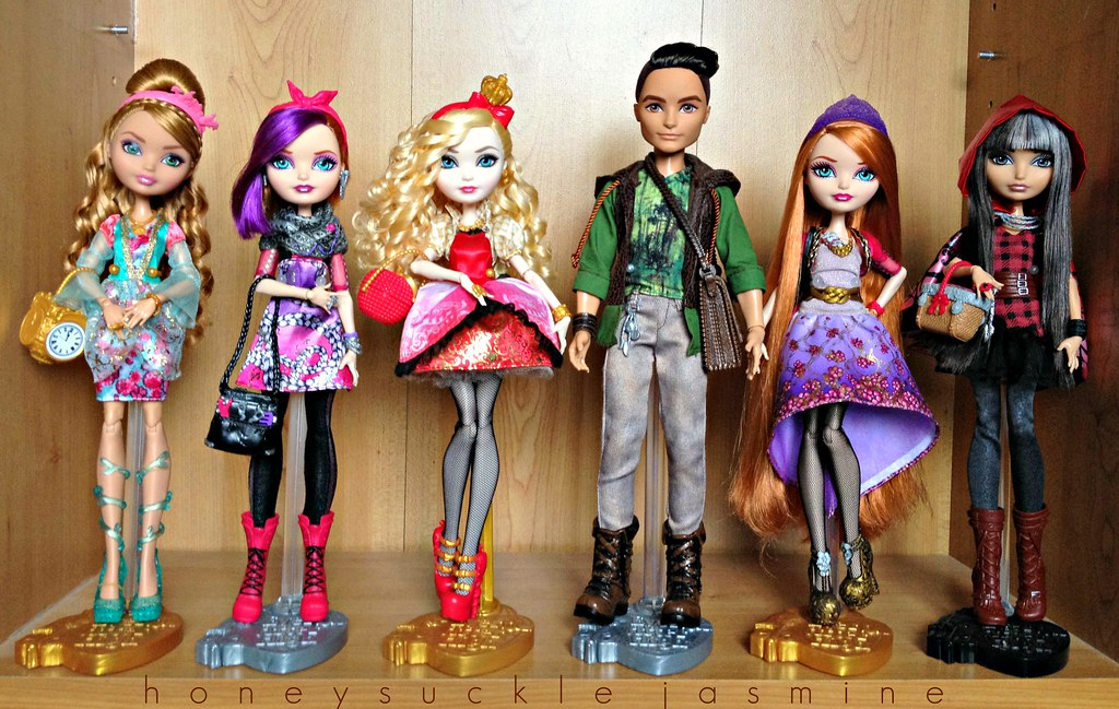 Ever After High Collection Ashlynn Ella Poppy Ohair App Flickr