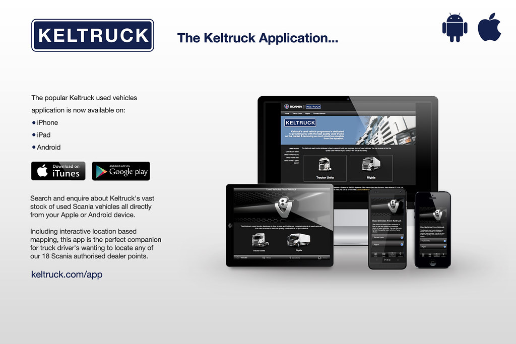 Keltruck Scania app