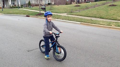 Wyatt's Balance Bike