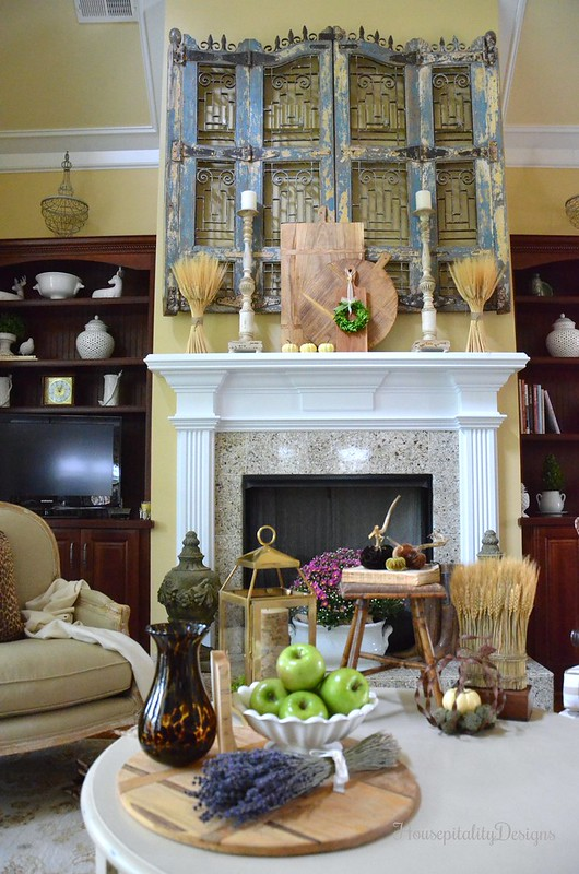 Great Room - Soft Surroundings French Country Fall Blog Tour - Housepitality Designs