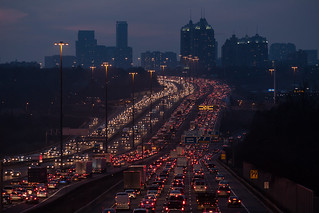 Monday Traffic on the 401 | by gtkenji