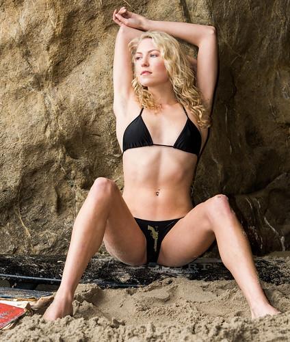 Nikon D810 Photos Pretty Swimsuit Bikini Model Goddess Wit -2213