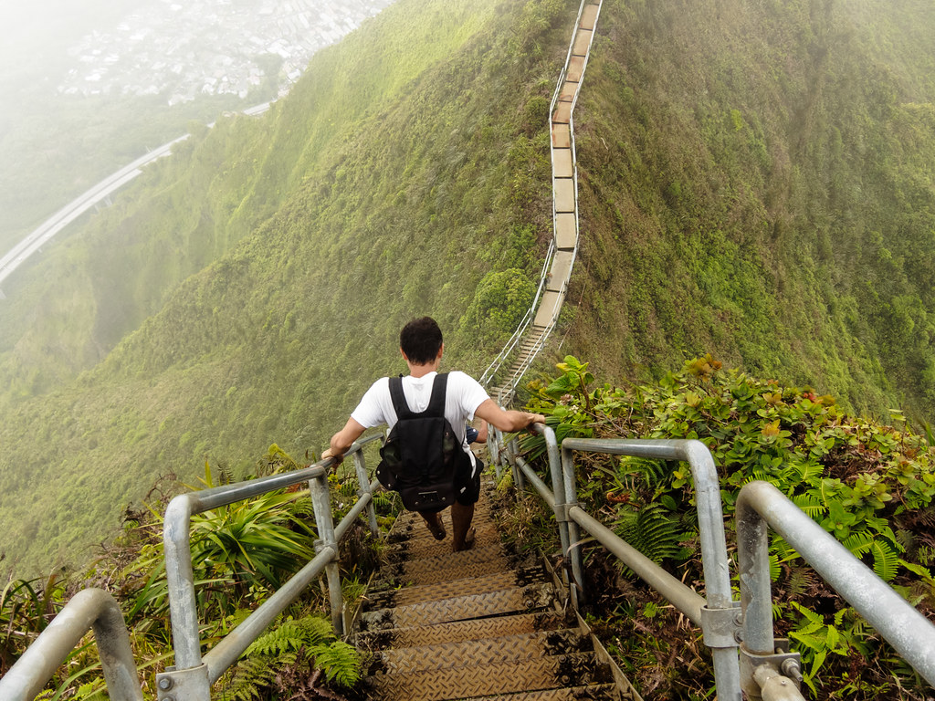 Image result for haiku stairs oahu