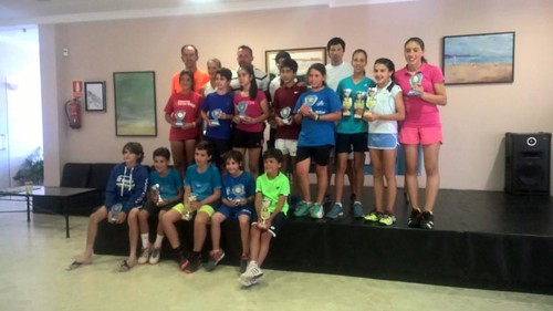 3ª Prueba del Circuito Gallego Juvenil de Tenis Babolat 2016