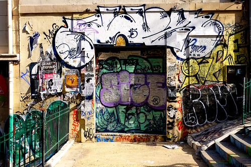 escalier Julien graffitis | by rogerejones