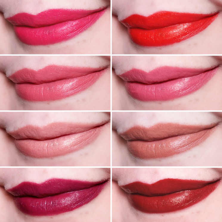 mary kay gel semi-matte lipstick swatches (2)