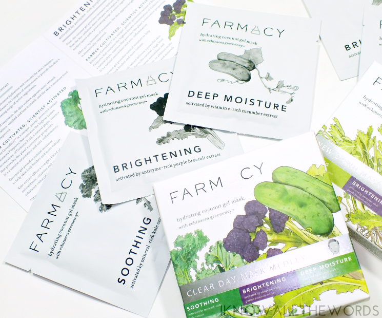 farmacy clear day & new dawn sheet mask medly (4)