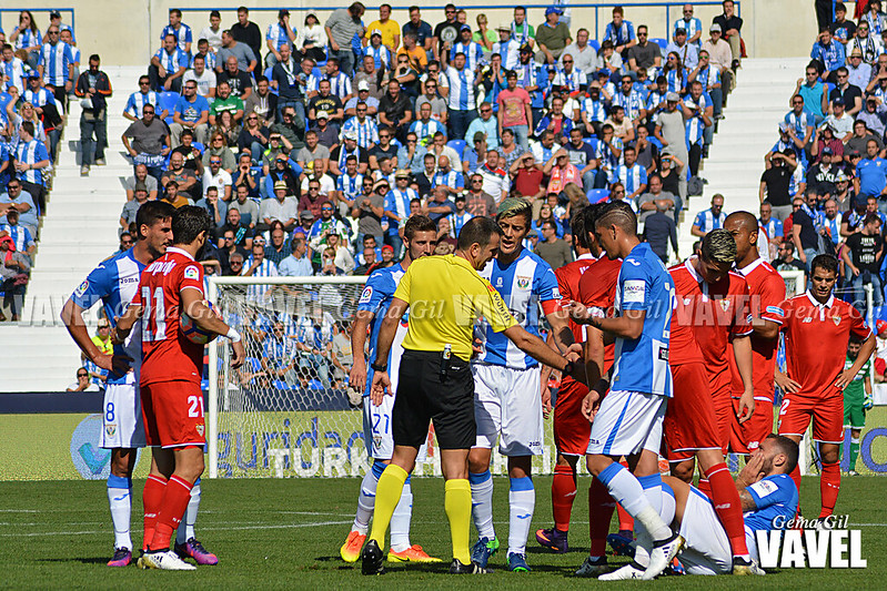 J8: CD Leganés 2 - 3 Sevilla FC