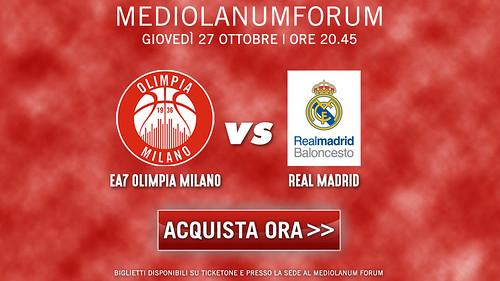 Milano-Real Madrid: biglietti disponibili da ora!