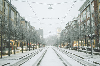 The first snow in Stockholm | by Unvelovert