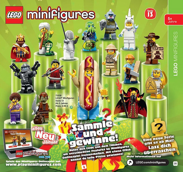 First semi-official photos of the spooky LEGO Series 14 minifigures