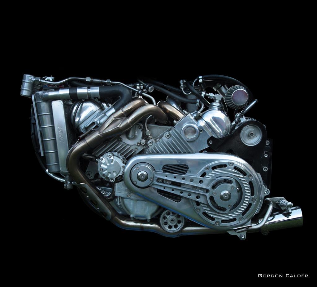 No 124  Home Built 1 700cc V8 Engine  With Reliant Robin H