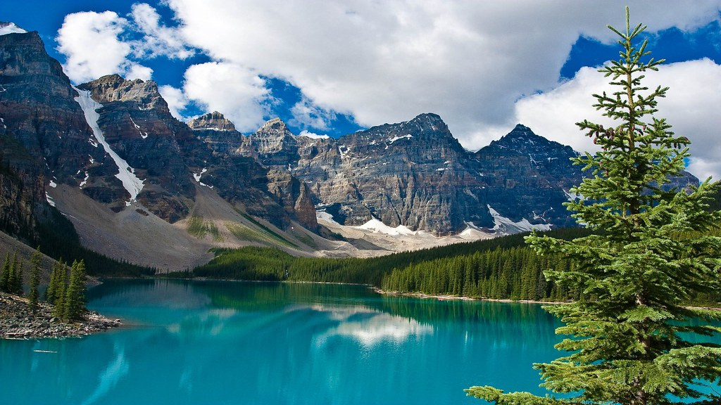 Moraine Lake - Banff National Park, Alberta, Canada [2560x ...